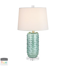 ELK Home D2924-HUE-D Caicos Table Lamp in Green - with Philips Hue LED Bulb/Dimmer