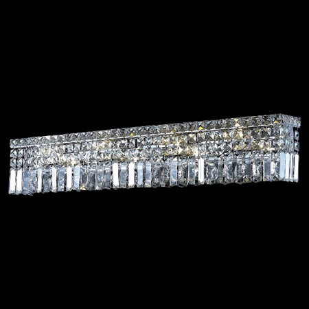 crystal vanity lights for bathroom lighting 2032w36c ec maxime 36 in vanity 23041