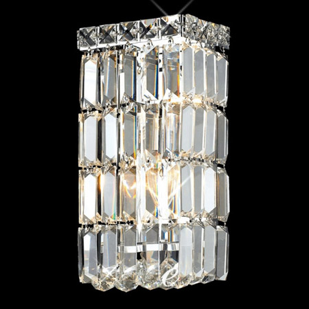 Lighting 2032W6CEC Crystal Maxime Wall Sconce – Chandelier Sconces Wall