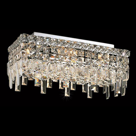 Elegant Lighting 2035f16c Ec Crystal Maxime Rectangular