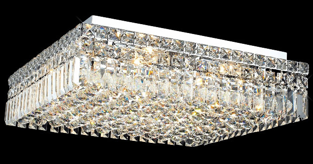 Elegant lighting 2032f20cec crystal maxime square flush mount elegant lighting 2032f20cec crystal maxime square flush mount ceiling fixture aloadofball Gallery