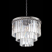 Elegant Lighting 1201D20PN/RC Crystal Sydney Pendant - (Clear)