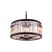 Elegant Lighting 1203D28MB/RC Crystal Chelsea Pendant - (Clear)