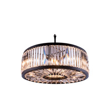 Elegant Lighting 1203D35MB/RC Crystal Chelsea Large Pendant - (Clear)