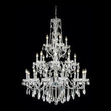Elegant Lighting 2016G36C/EC Crystal St. Francis Chandelier - (Clear)