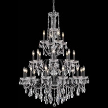 Elegant Lighting 2016G36DB/EC Crystal St. Francis Chandelier - (Clear)