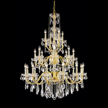 Elegant Lighting 2016G36G/EC Crystal St. Francis Chandelier - (Clear)