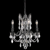 Crystal Rosalia Mini Chandelier - Elegant Lighting 9204D17DB