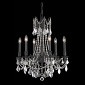 Crystal Rosalia Chandelier - Elegant Lighting 9206D23DB