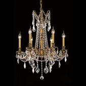 Crystal Rosalia Chandelier - Elegant Lighting 9206D23FG