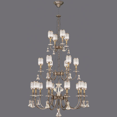 Fine Art Lamps 584840 2 Crystal Eaton Place Silver Large