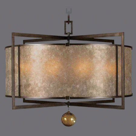 Fine Art Lamps 591540 Singapore Moderne Asian Hanging Pendant