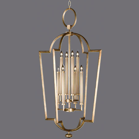 Fine Art Handcrafted Lighting 780440-2 Allegretto Gold Lantern