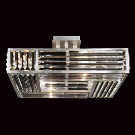Fine Art Lamps 811640 Crystal Enchantment Semi Flush Mount