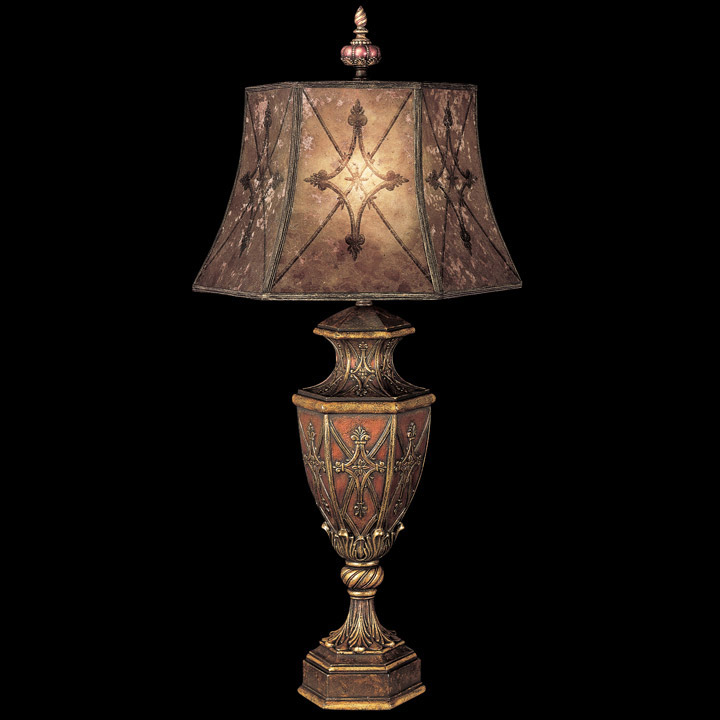 Table Lamps Made in USA - Lamps Beautiful:Fine Art Lamps 167110 Villa 1919 Table Lamp,Lighting