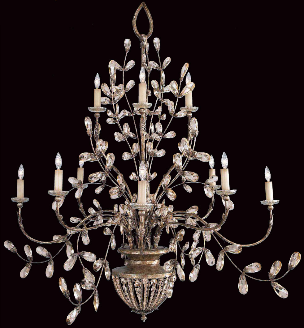 Fine art lamps 175940 a midsummer nights dream chandelier with crystal aloadofball Images