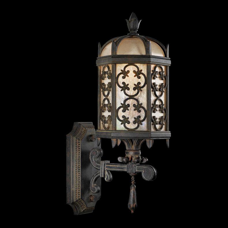 fine art lamps 329881 costa del sol small outdoor lantern