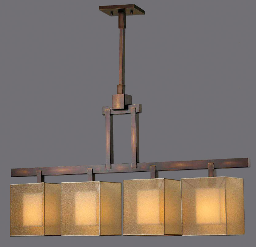 Fine Art Lamps 330540 Quadralli Island Bar Light