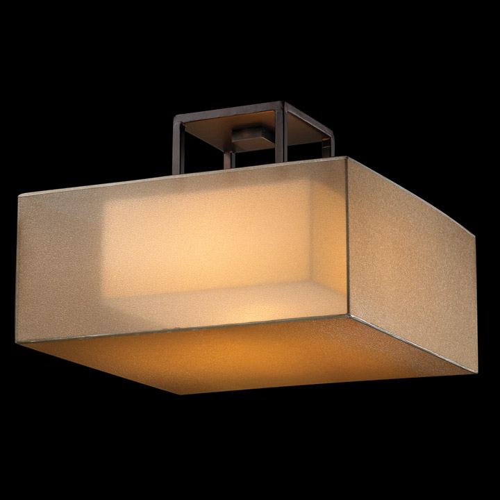 fine art lamps quadralli semiflush ceiling fixture