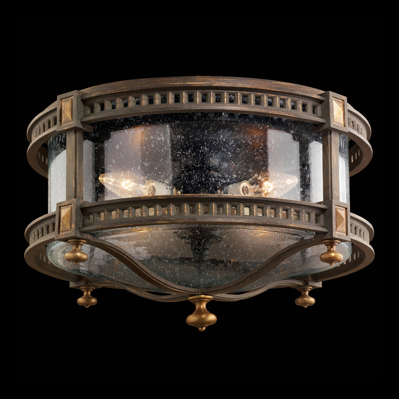 Fine Art Lamps 564982 Beekman Place Outdoor Ceiling Light