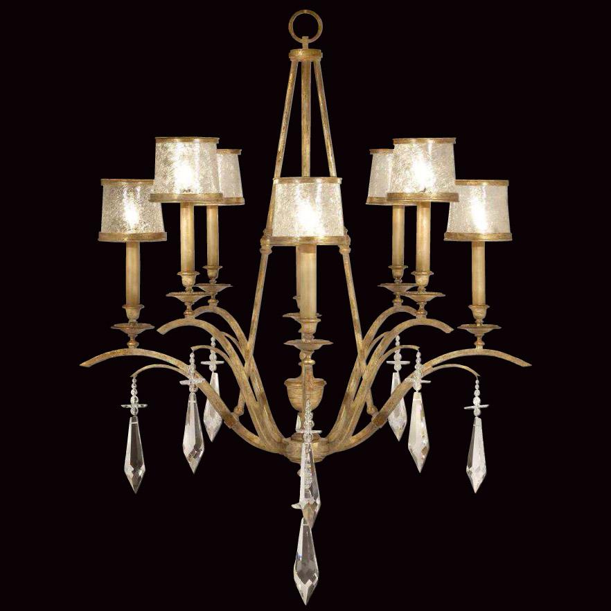 fine art lamps 567540 crystal monte carlo chandelier. Black Bedroom Furniture Sets. Home Design Ideas