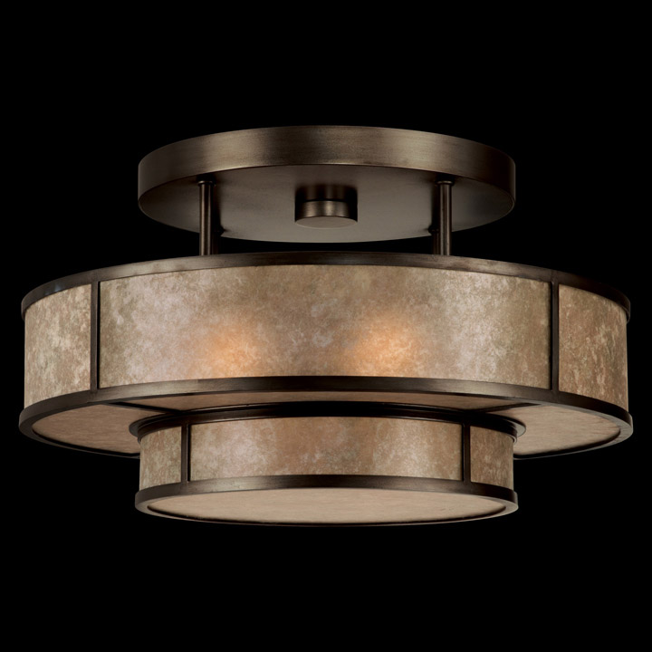 Fine Art Lamps 600940 Singapore Moderne Semi Flush Mount