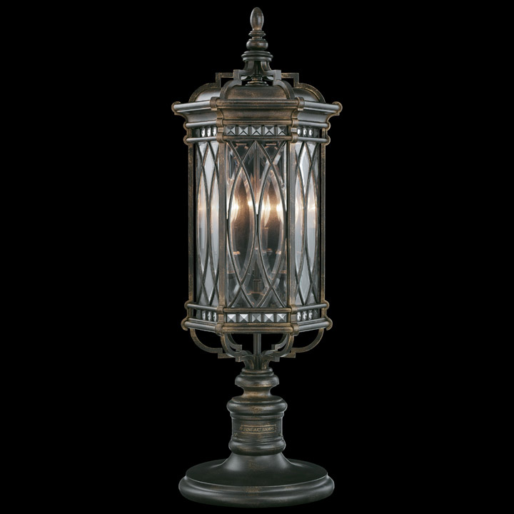 Fine Art Lamps 611283 Warwickshire Outdoor Pier Post Mount
