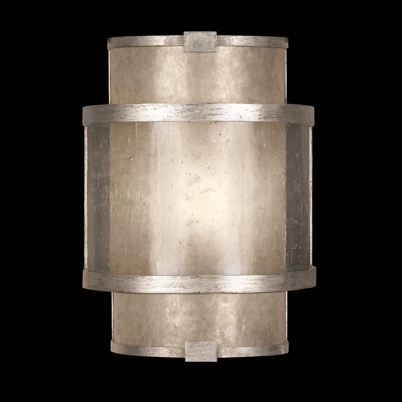 Fine Art Lamps 618050-2 Singapore Moderne Silver ADA Wall Sconce