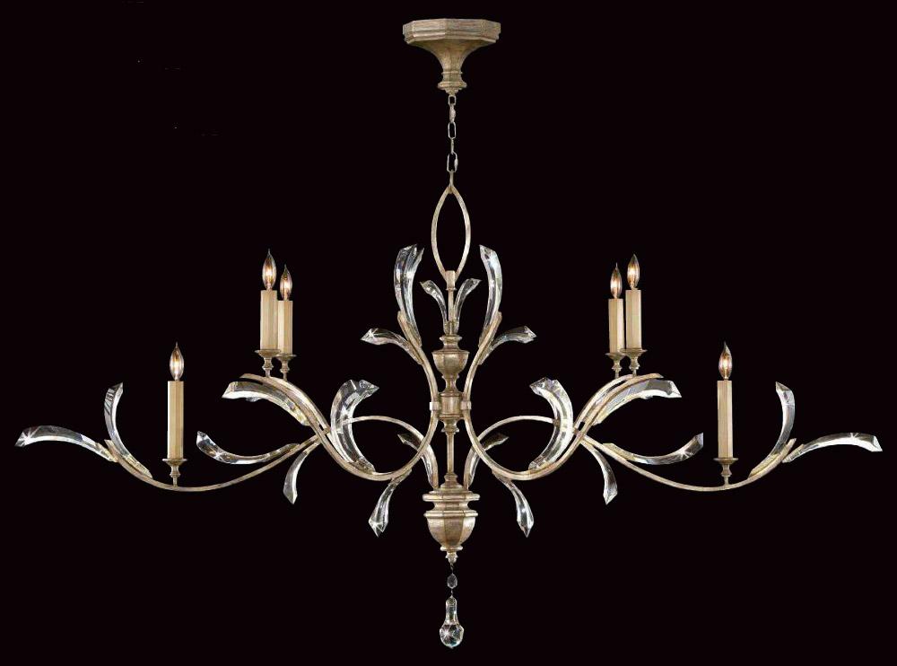 Fine Art Lamps 700840 Crystal Beveled Arcs Chandelier