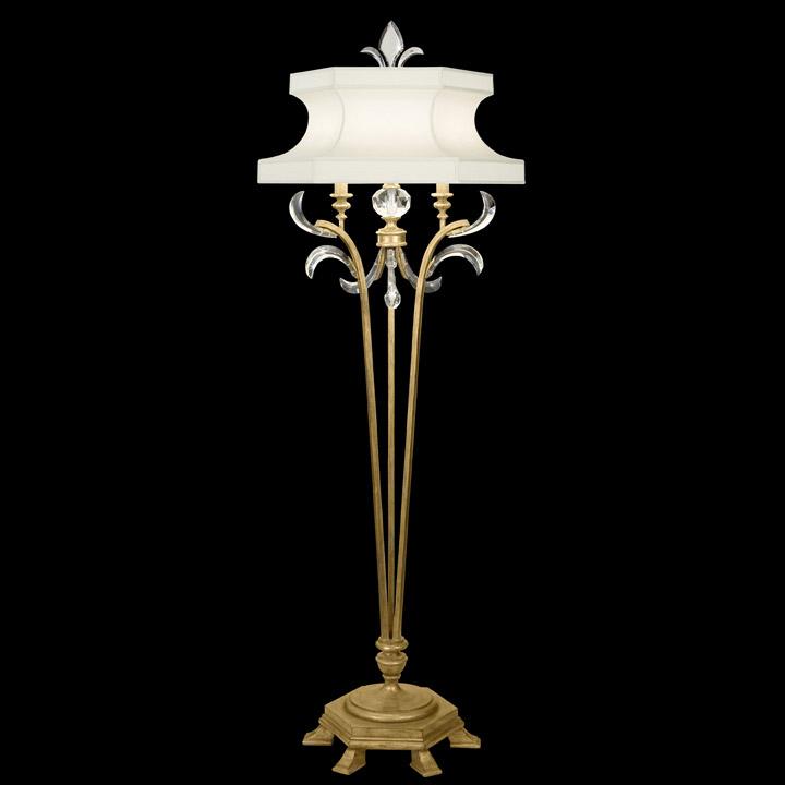 fine art lamps 768620 crystal beveled arcs gold floor lamp. Black Bedroom Furniture Sets. Home Design Ideas