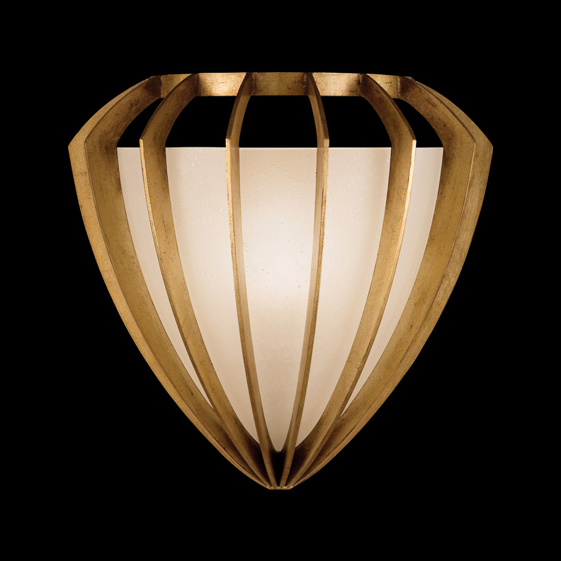 Wall Lamps Gold : Fine Art Lamps 786450-2 Staccato Gold Wall Sconce