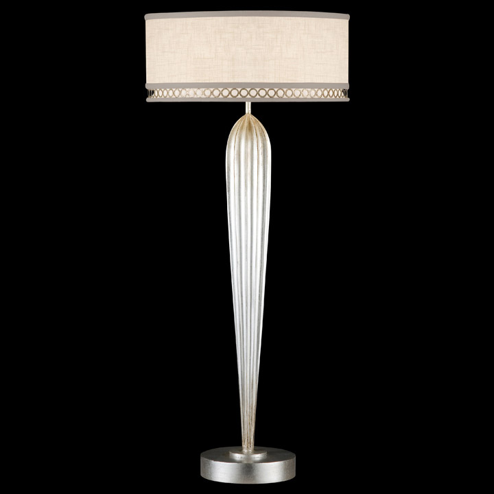 Silver Table Lamps : Home > Lamps > Table Lamps > Standard Table Lamps > Fine Art Lamp...