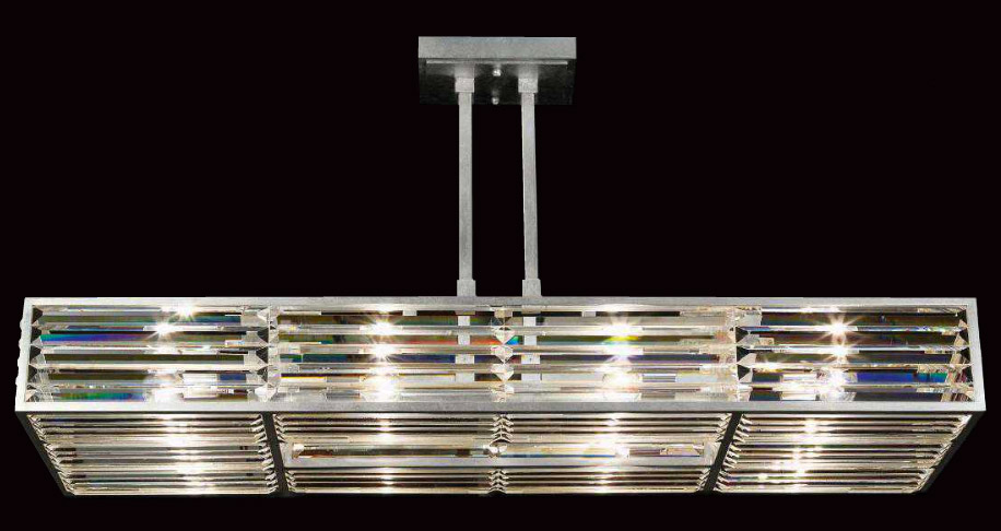 Fine Art Lamps 811740 Crystal Enchantment Rectangular