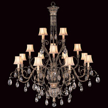 Chandeliers made in usa lamps beautiful fine art lamps 136740 crystal a midsummer nights dream sixteen light chandelier aloadofball Choice Image