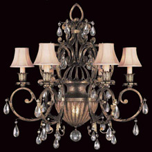 Chandeliers made in usa lamps beautiful fine art lamps 161740 crystal a midsummer nights dream chandelier aloadofball Choice Image