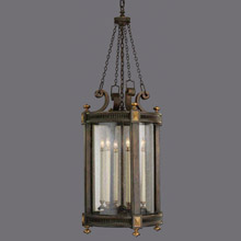 Fine Art Handcrafted Lighting 564382 Beekman Place Outdoor Lantern