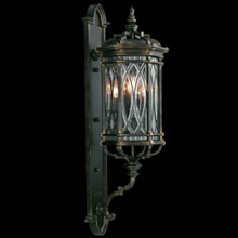 Fine Art Handcrafted Lighting 612081 Warwickshire Large Outdoor Wall Lantern