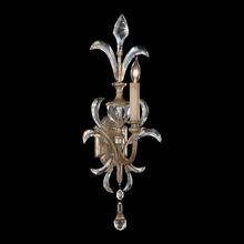 Fine Art Lamps 704950 Crystal Beveled Arcs Wall Sconce