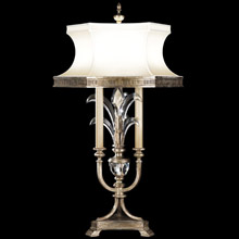 Fine Art Lamps 738210 Crystal Beveled Arcs Table Lamp