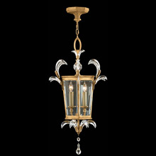 Fine Art Handcrafted Lighting 762340 Crystal Beveled Arcs Gold Lantern