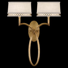Fine Art Handcrafted Lighting 784750-2 Allegretto Gold Wall Sconce