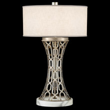 Fine Art Handcrafted Lighting 784910 Allegretto Silver Table Lamp