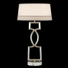 Fine Art Handcrafted Lighting 785010 Allegretto Silver Table Lamp