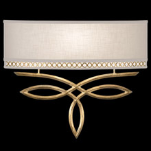 Fine Art Handcrafted Lighting 785650-2 Allegretto Gold ADA Wall Sconce