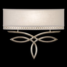 Fine Art Handcrafted Lighting 785650 Allegretto ADA Silver Wall Sconce