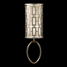 Fine Art Handcrafted Lighting 787450 Allegretto Silver Wall Sconce