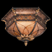 Classic/Traditional Villa 1919 Flush Mount Ceiling Fixture - Fine Art Handcrafted Lighting 182145