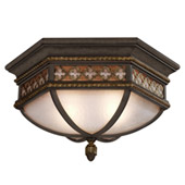 Classic/Traditional Chateau Outdoor Flush Mount Ceiling Fixture - Fine Art Lamps 403082
