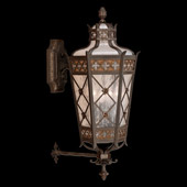 Classic/Traditional Chateau Outdoor Mid-Size Wall Lantern - Fine Art Lamps 403481