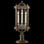 Classic/Traditional Beekman Place Outdoor Pier/Post Mount Lantern - Fine Art Lamps 564283